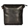 Мужская кожаная сумка 4513 черная 0