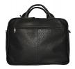 Мужской кожаный портфель-сумка 4368 черный 3
