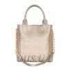 Женская сумка 35623 серебристая 0