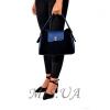 Женская замшевая сумка MIC 0703 синяя 5