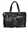 Мужской кожаный портфель 4267 черный 0