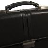 Мужской кожаный портфель 4468 черный 0
