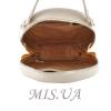 Жіноча кругла сумка МІС 35716 бежева 4