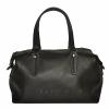 Женская сумка комбинированная 0657 черная 0