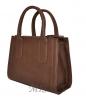 Жіноча сумка 35621 коричнева 4