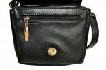 Женская сумка 35441 черная с тиснением 6
