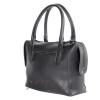 Женская замшевая сумка МІС 0714 черная 4