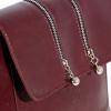 Женская сумка МІС 35810 бордовая 5
