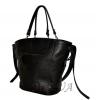 Женская кожаная сумка 2530 черная 3