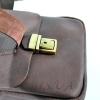 Мужская кожаная сумка Vesson 4563 коричневая 3