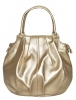 Женская сумка 35440 золотистая 0