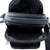 Мужская кожаная сумка Vesson  4550 черная 4