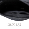 Мужская кожаная сумка Vesson 4583  черная  6
