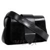 Женская замшевая сумка MIC 0707 черная 2