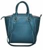 Женская сумка 35522 темно-бирюзовая 2