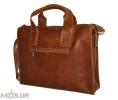 Мужской  портфель 4241 рыжий 3