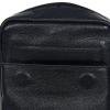 Мужская кожаная сумка Vesson 4673 черная 6