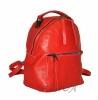 Жіночий рюкзак 2537 червоний 2