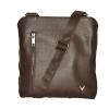 Men's leather handbag 4323 is brown 4