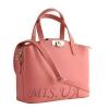 Женская сумка МIС 35667 розовая 3