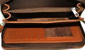 Мужская барсетка 4306 рыжая 0