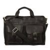 Мужской кожаный портфель 4301 черный 2