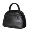 Женская замшевая сумка МIС 0704 черная 3