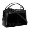 Женская замшевая сумка MIC 0719 черная 2