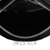 Женская замшевая сумка МІС 0710 черная 4