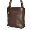Men's leather handbag 4323 is brown 3