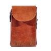 Мужская кожаная сумка Vesson 4555 рыжая 0