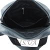 Мужская кожаная сумка Vesson  4571 черная 5