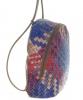Женский рюкзак 35411 капучино с цветным принтом 3