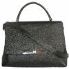 Женская сумка 2527 черная з тиснением 3