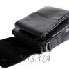 Мужская кожаная сумка Vesson  4564 черная 5