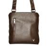Men's leather handbag 4323 is brown 0