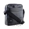 Мужская кожаная сумка Vesson  4571 черная 3