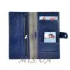 Чоловічий гаманець-портмоне 34295 синій 3