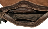Мужской кожаный портфель 4381 коричневый 4