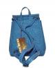 Женский рюкзак 2512 синий  2