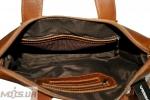Мужской  портфель 4241 рыжий 5