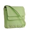 Женская  кожаная сумка МІС 2485 мятная 1