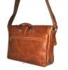 Мужской кожаный портфель 4381 рыжий 3
