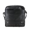 Мужская кожаная сумка Vesson  4571 черная 0
