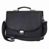 Мужской кожаный портфель 471 черный 1