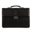 Мужской кожаный портфель 4468 черный 5