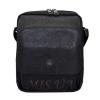 Men's leather bag 0435 is black 0