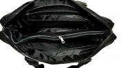 Мужской кожаный портфель 4369 черный 7