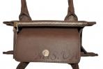 Жіноча сумка 35621 коричнева 6