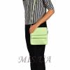 Женская  кожаная сумка МІС 2485 мятная 5